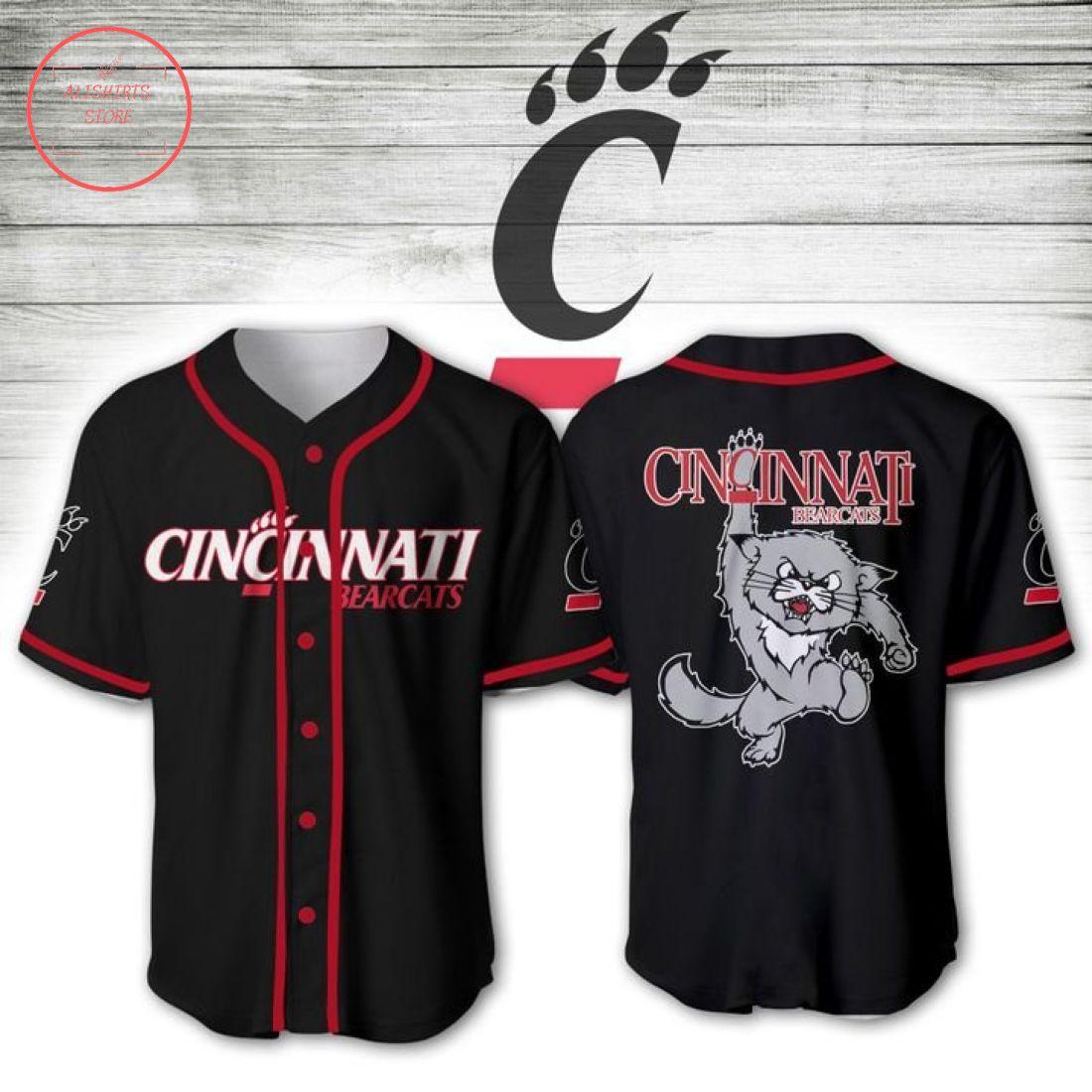 Cincinnati Bearcats NCAA Baseball Jersey
