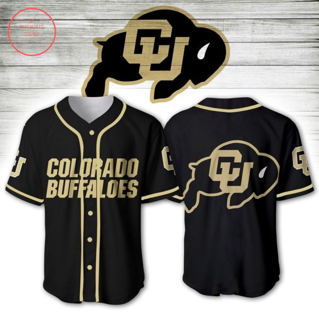 Colorado Buffaloes NCAA Baseball Jersey
