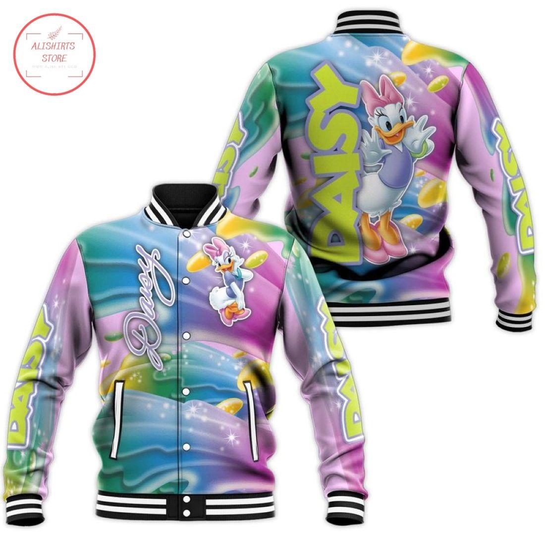 Disney Daisy Duck Letterman Jacket