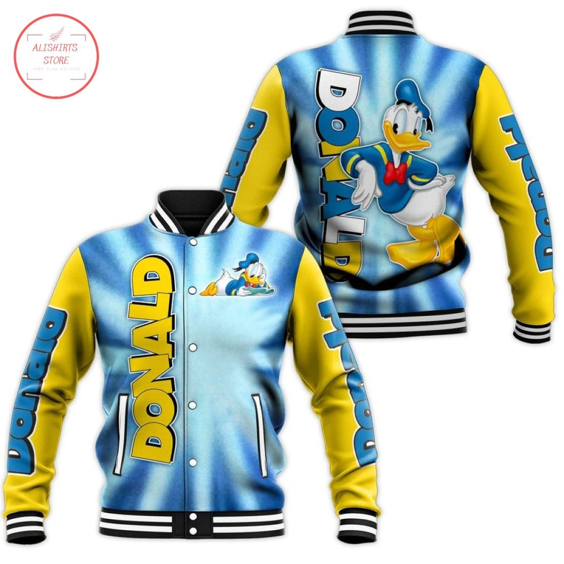 Disney Donald Duck Letterman Jacket