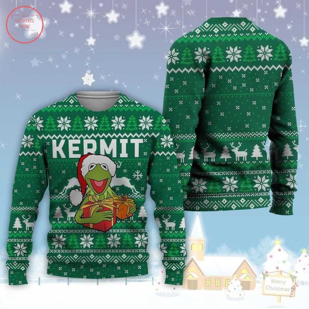 Happy Frog Muppet Ugly Christmas Sweater