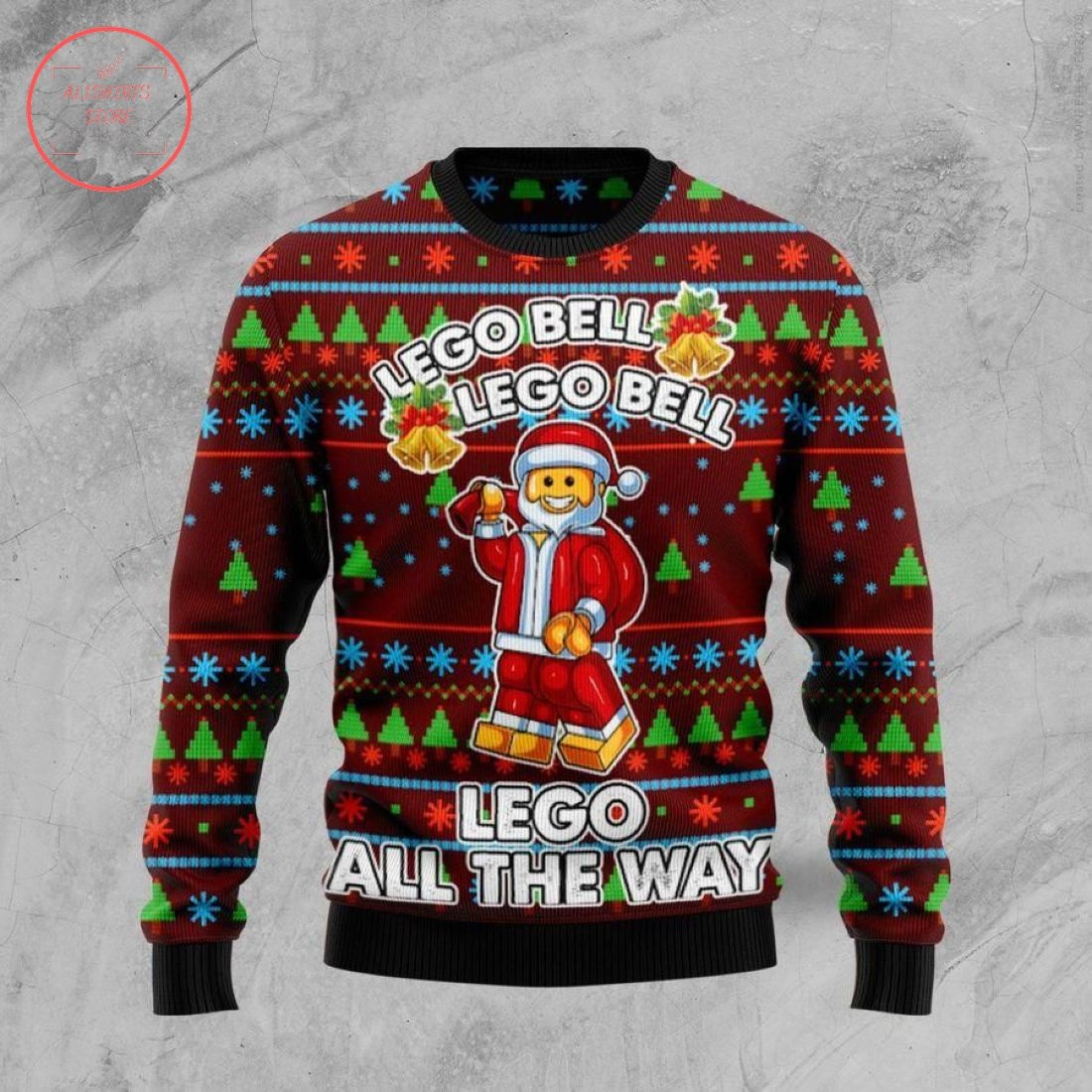 Lego Bell Ugly Christmas Sweater