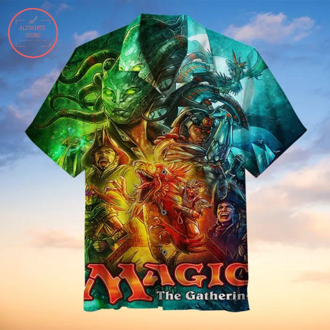 Magic The Gathering Hawaiian Shirt