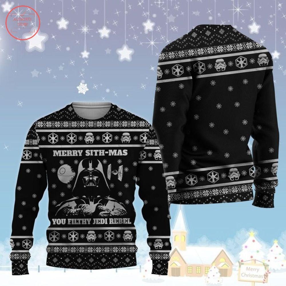 Merry Sithmas Star Wars Ugly Christmas Sweater