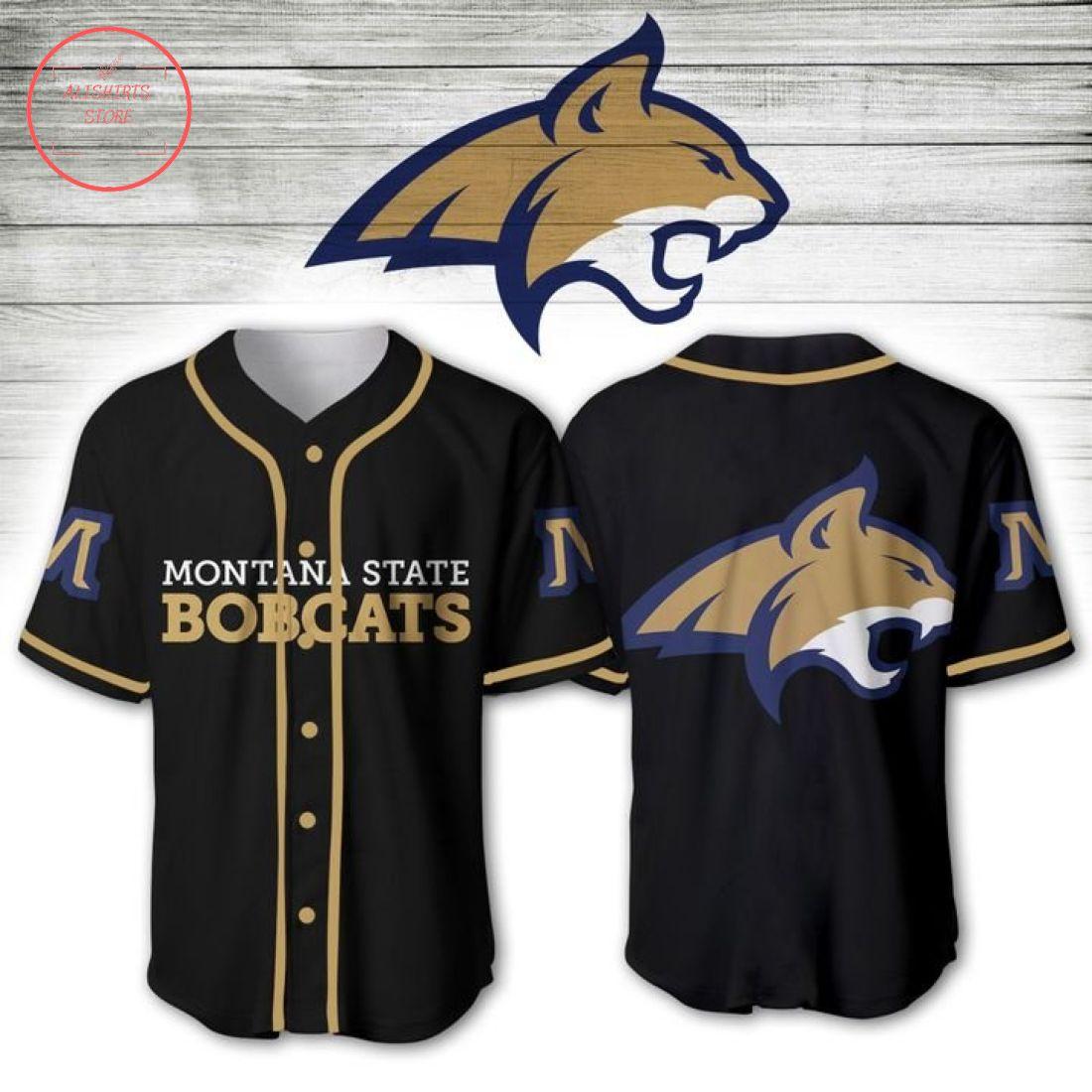 Montana State Bobcats NCAA Baseball Jersey