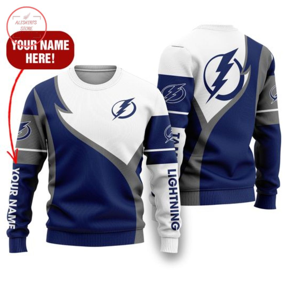 Nhl Tampa Bay Lightning Personalized Shirts