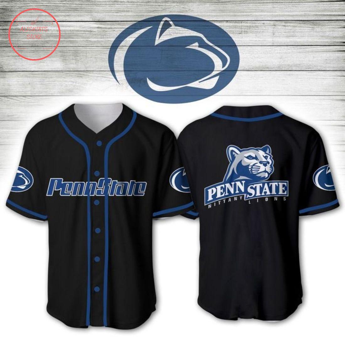 Penn State Nittany Lions NCAA Baseball Jersey