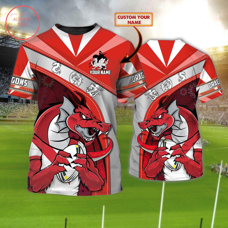 Red Dragons Football Shirt