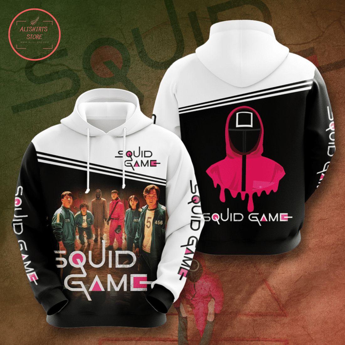 Squid Game Korean Drama 3D All Over Print Hoodie