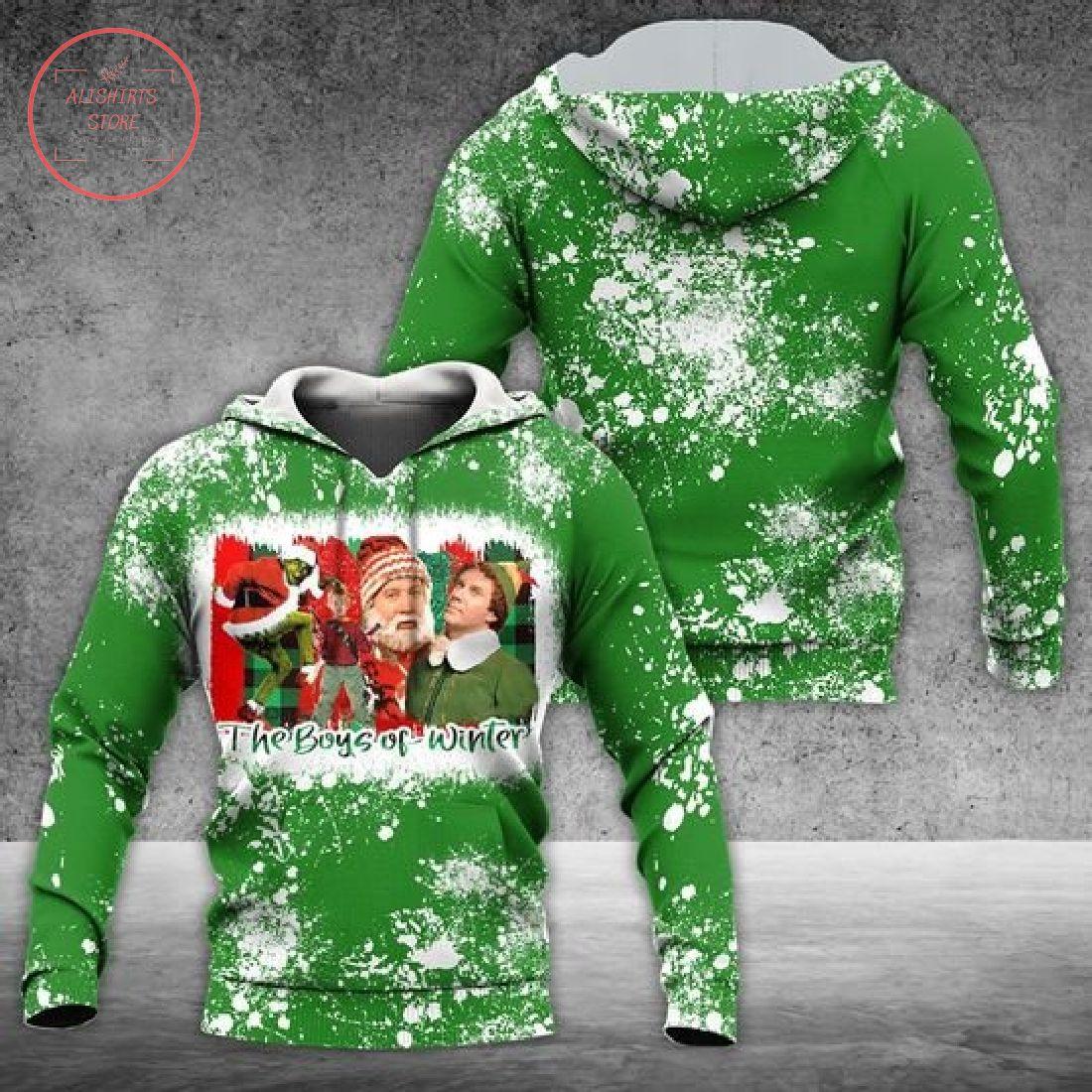The Boys Of Christmas 3D Hoodie