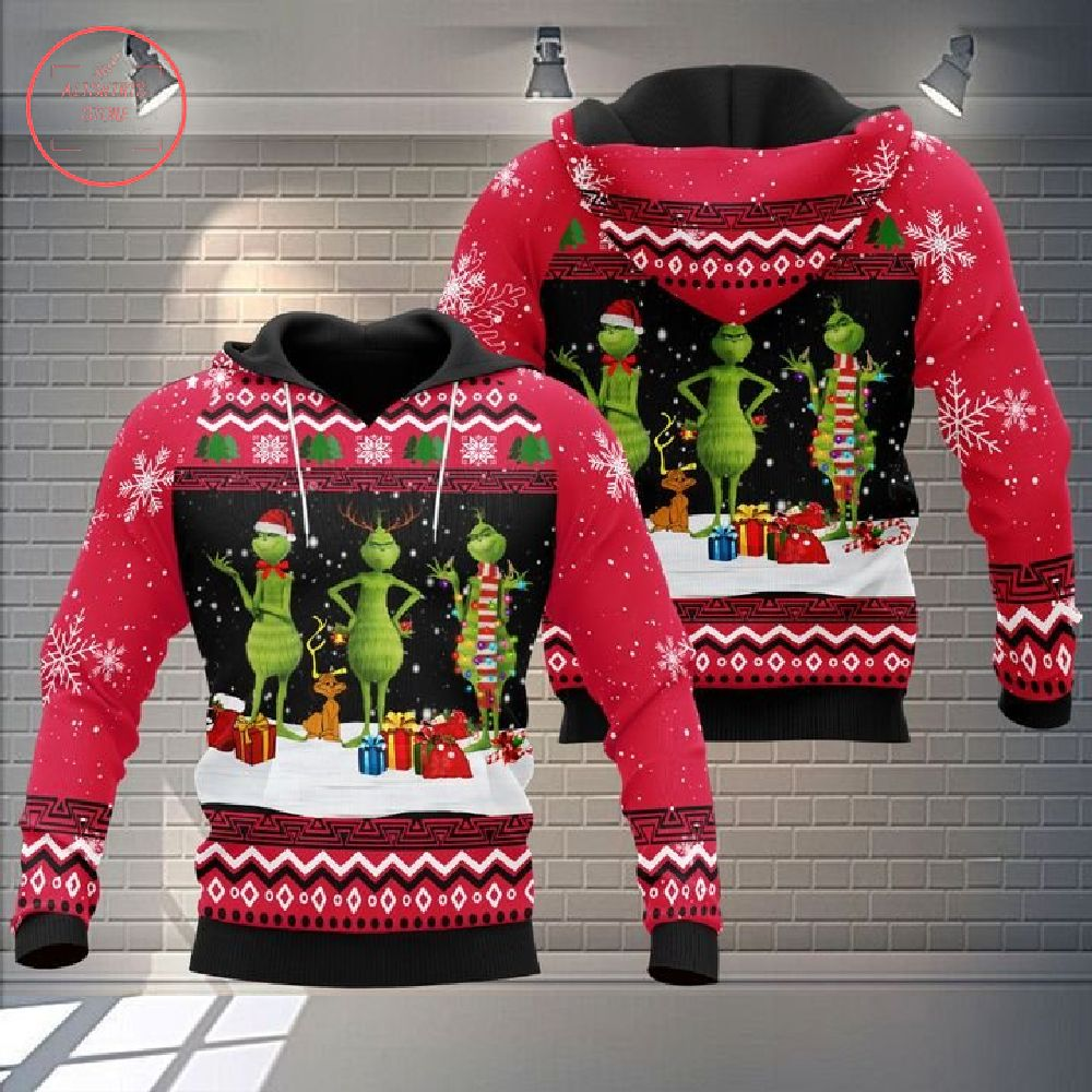 The Grinch In Christmas 3D Hoodie