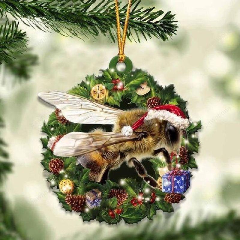 Bee Christmas Gift Ornament