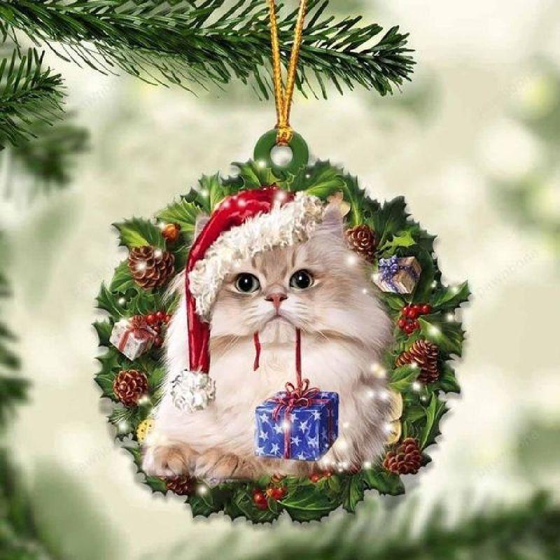 British Longhair Christmas Gift Ornament